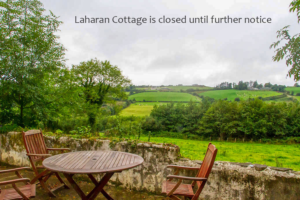 Laharan Cottage is closed until further notice